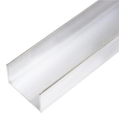 Купить Профиль алюминиевый П-образный 30х50х30х2x2000 мм дешевле