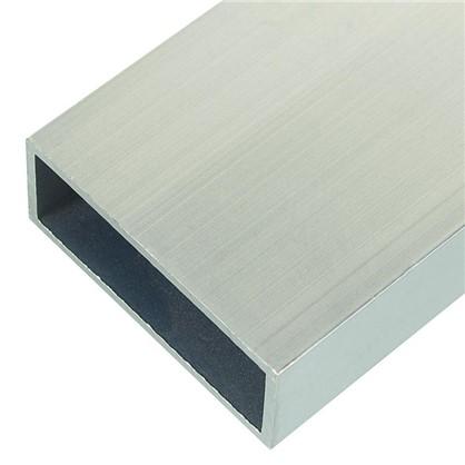 Купить Профиль алюминиевый прямоугольный трубчатый 50х20х2x1000 мм дешевле