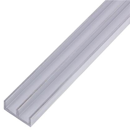 Профиль алюминиевый Ш-образный 265 1 м