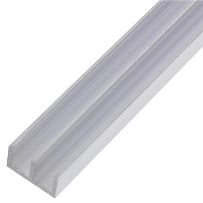 Профиль алюминиевый Ш-образный 266 1 м