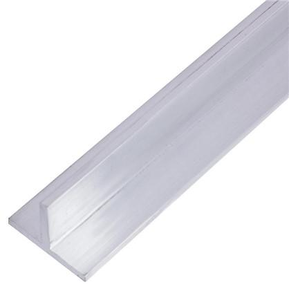 Купить Профиль алюминиевый Т-образный 20х15х2x1000 мм дешевле