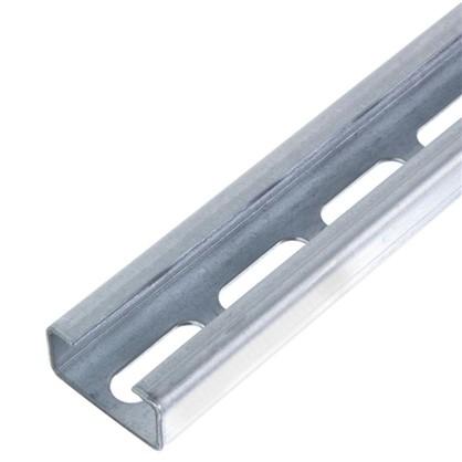 Профиль C-образный 40x20x2000 мм отверстие сталь оцинкованная