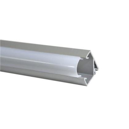 Купить Профиль для светодиодной ленты угловой с креплением 1 м дешевле