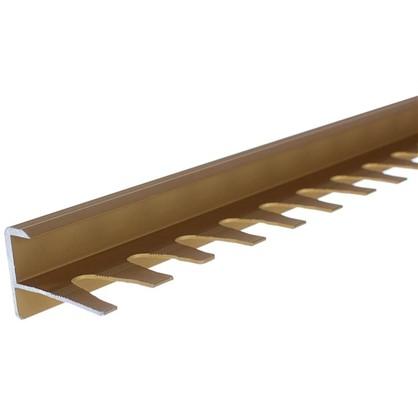 Купить Профиль гибкий для ступений 270 см цвет золото дешевле