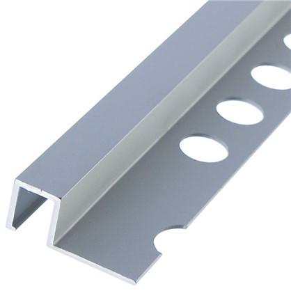 Купить Профиль окантовочный 1x270 см цвет серебро дешевле