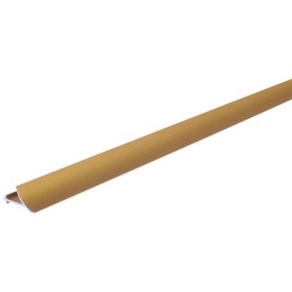 Купить Профиль окантовочный 270 см цвет золото дешевле