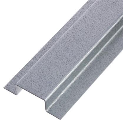 Профиль Омега 40х20х20х1 мм без отверстий оцинкованный