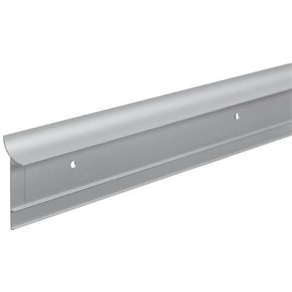 Профиль пристенный ALK0011 300 см алюминий цвет серебро