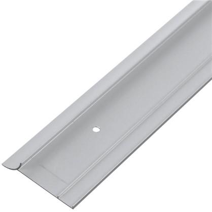 Купить Профиль пристенный ALK0011 300 см алюминий цвет серебро дешевле