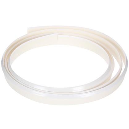 Профиль пристенный гибкий 320 см пластик цвет белый