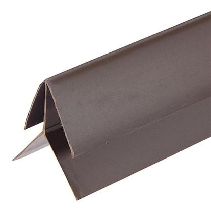 Профиль ПВХ Artens наружный угол т8/10 мм 3 м цвет коричневый