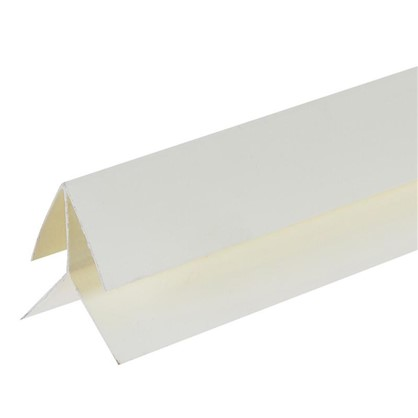 Профиль ПВХ Artens наружный угол т8/10 мм 3 м цвет кремовый
