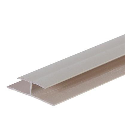 Профиль ПВХ Artens соединительный т5 мм 3 м цвет бежевый