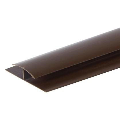 Профиль ПВХ Artens соединительный т8/10 мм 3 м цвет коричневый