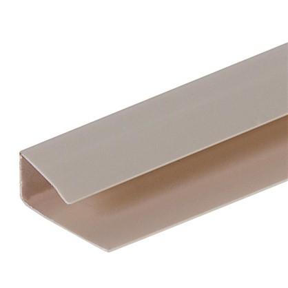 Профиль ПВХ Artens т8/10 мм 3 м цвет бежевый