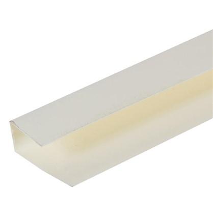 Профиль ПВХ Artens т8/10 мм 3 м цвет кремовый