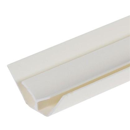 Профиль ПВХ Artens внутренний угол т5 мм 3 м цвет кремовый