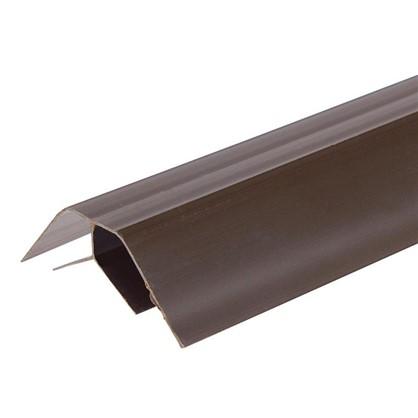 Профиль ПВХ Artens внутренний угол т8/10 мм 3 м цвет коричневый