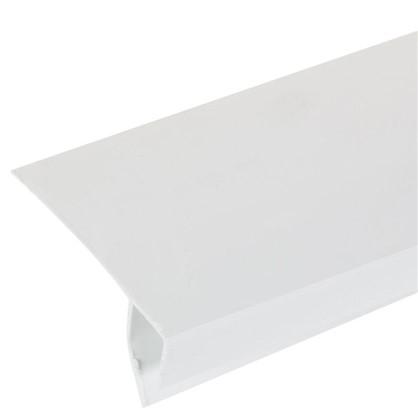 Купить Профиль ПВХ оконный F-образный 3000 мм цвет белый дешевле
