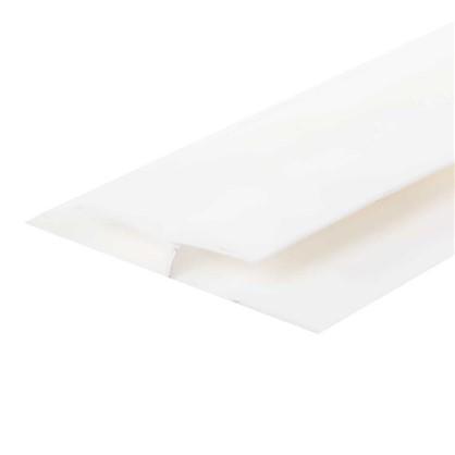 Профиль ПВХ соединительный 5 мм 3000 мм цвет белый