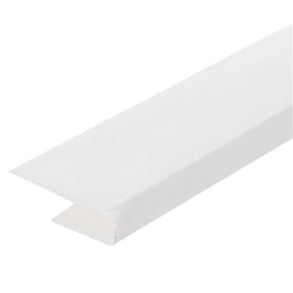 Профиль ПВХ стартовый для панелей 5 мм 3000 мм цвет белый