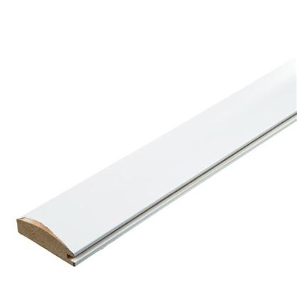 Профиль рамочный МДФ 55х16х2070 мм цвет белый