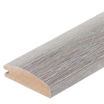 Профиль рамочный МДФ 55х16х2070 мм цвет серый