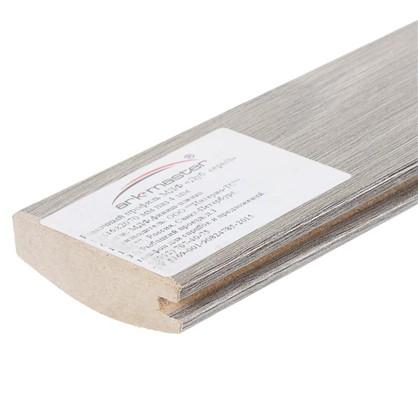 Купить Профиль рамочный МДФ 55х16х2070 мм цвет серый дешевле