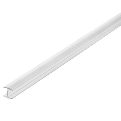 Профиль соединительный Н-образный для стеновой панели 60х0.6 см пластик