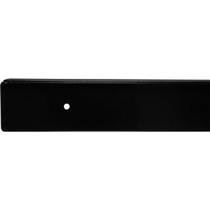 Купить Профиль торцевой 38 мм R3 RAL9005 дешевле