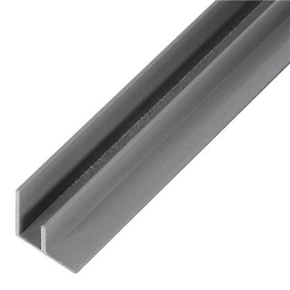 Профиль угловой F-образный для стеновой панели 60х0.4 см алюминий