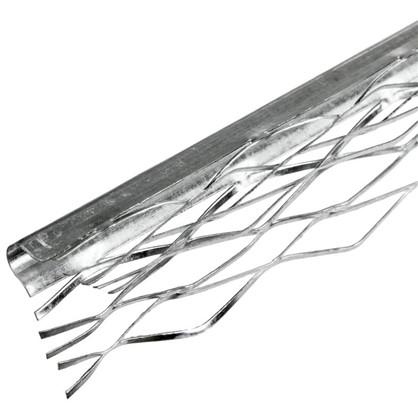 Профиль угловой (ПУ) оцинкованный сетчатый 35x35x3000 мм