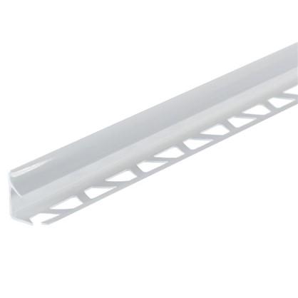 Профиль внутренний 1х250 см белый