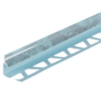 Профиль внутренний 1х250 см цвет бирюзовый