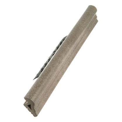 Профиль закладной №212 для ступени 5х36 см цвет серый