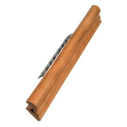 Купить Профиль закладной №217 для ступени 5х36 см цвет коричневый дешевле