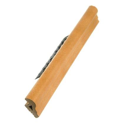 Купить Профиль закладной №244 для ступени 5х36 см цвет коричневый дешевле