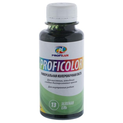Купить Профилюкс Profilux Proficolor №13 100 гр цвет зеленая ель дешевле