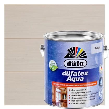 Пропитка для дерева водная белая Dufatex aqua 2.5 л