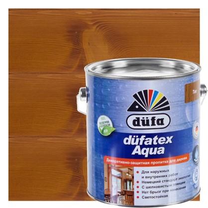 Пропитка для дерева водная цвета тик Dufatex aqua 2.5 л