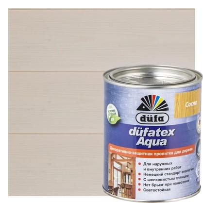 Пропитка для дерева водная Dufatex aqua 0.75 л цвет белый