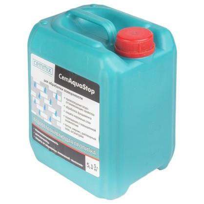 Купить Пропитка водоотталкивающая Cemmix CemAquaStop 5 л дешевле