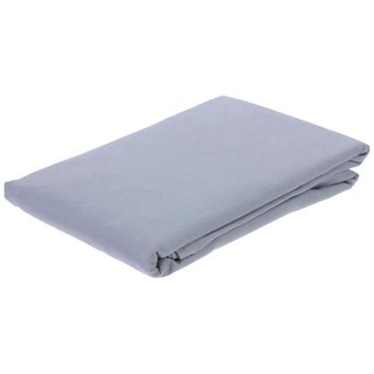 Купить Простыня 1.5-спальная Pearl Blue 160х220 см сатин дешевле