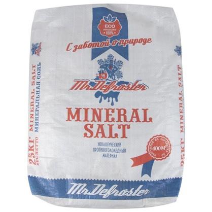 Купить Противогололедный реагент Минеральная соль 25 кг дешевле