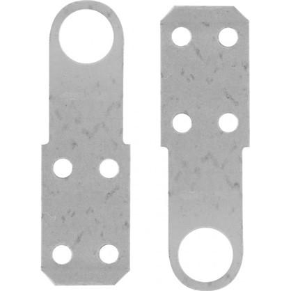 Проушина для замка прямая 90х30х1.2 мм оцинкованная сталь