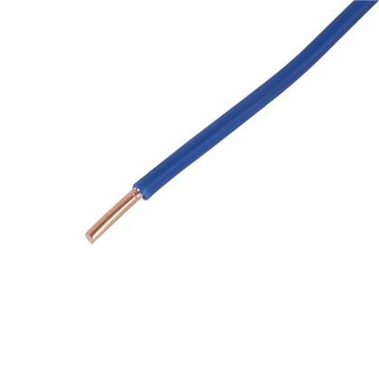 Провод ПуВ 1х4 мм на отрез цвет голубой