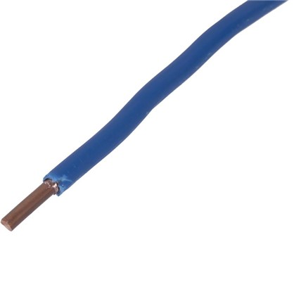 Провод ПуВ 1х6 мм на отрез цвет голубой