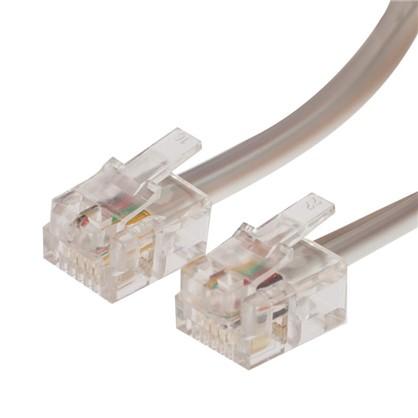 Провод телефонный 6P4C 5 м
