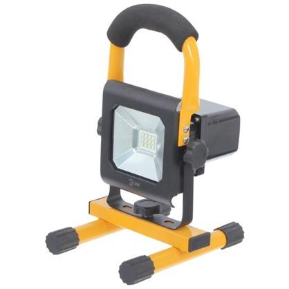 Прожектор светодиодный Эра IP65 10 Вт 900 Лм цвет желтый