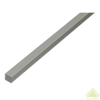 Пруток Gah Alberts квадратный 10x10x1000 мм алюминий цвет серебро